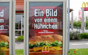 Plakat Werbeaktion
