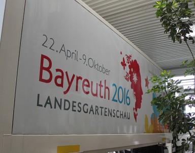 Folierung LKW Landesgartenschau 2016