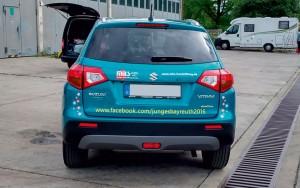 Fahrzeugverklebung LGS Suzuki 03