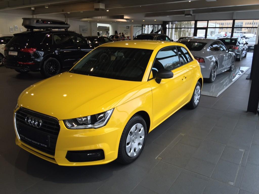 Audi A1 Vollverklebung Mbs Mobiler Beschriftungs Service